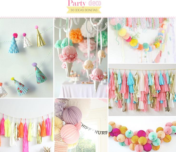 30 ideas para decorar una fiesta   Aubrey and Me