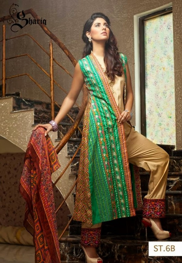 Girls-Women-Wear-Beautiful-New-Winter-Autumn-Clothes-2013-14-by-Shariq-Textile-5