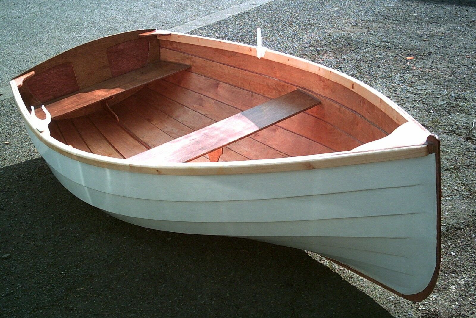 Boat Building Plans for ROMNEY 2.2 Plywood Sailing Dinghy by STANLEY
