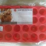 Grazia Silicone 24 cup mini muffin pan review