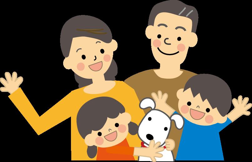 家族のイラスト無料イラストフリー素材2