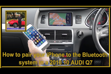 2010 Audi Q7 Bluetooth Music