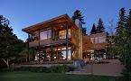 Casa de campo el estilo contemporáneo más natural