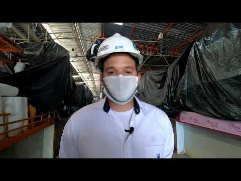 Técnico da HBR Engenharia fala sobre andamento da reestruturação nos telhados do Moda Center