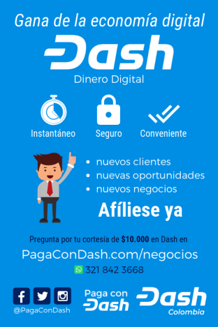 Dash in Columbia Merchant Flyer