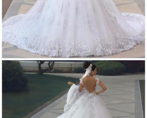 Vestidos de Novia Sexy See Through Bodice Wedding Dress ...
