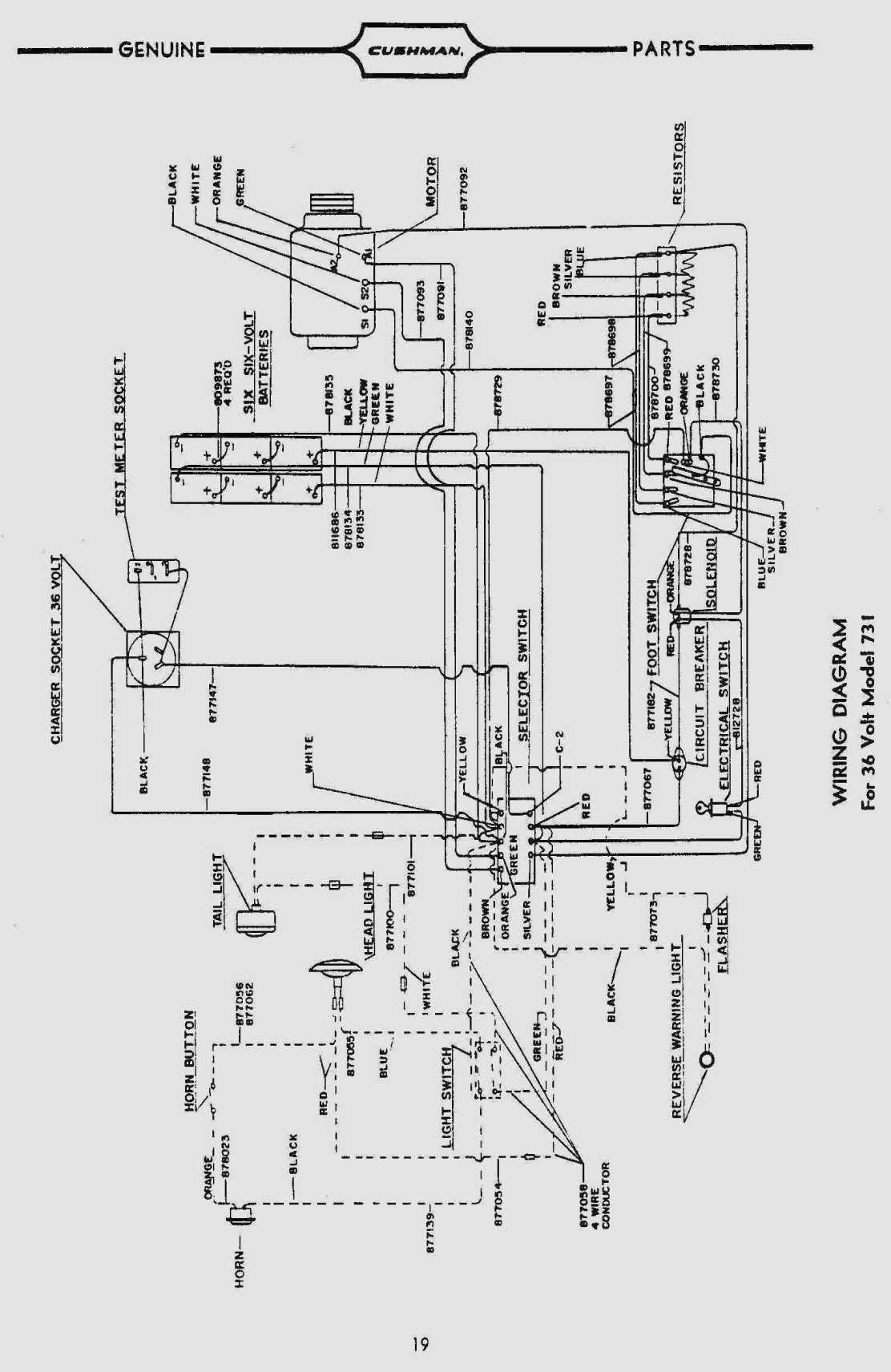 1989 Ezgo Marathon Golf Cart Wiring Diagram