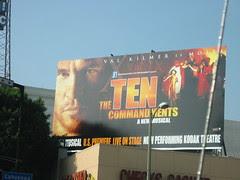 Billboard of The Ten Commandments