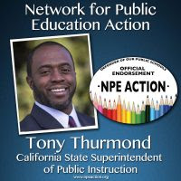 Tony Thurmond for California State Superintendent of Public Instruction