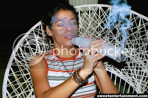 Spliff cannabis Jacqui Smith Home Secretary