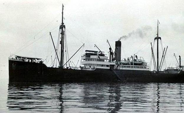 Barco con oro nazi