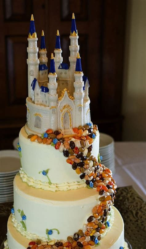 101 best Disney Castle Wedding Cake images on Pinterest