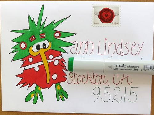 Looney bird to Annie