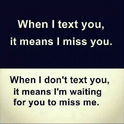 Waiting For You To Miss Me Quote Quote Number 612912 Picture Quotes