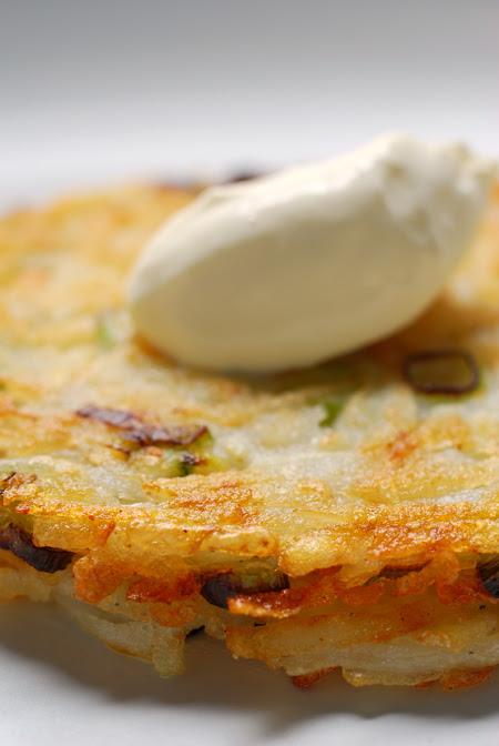 Potato Rösti with Horseradish©