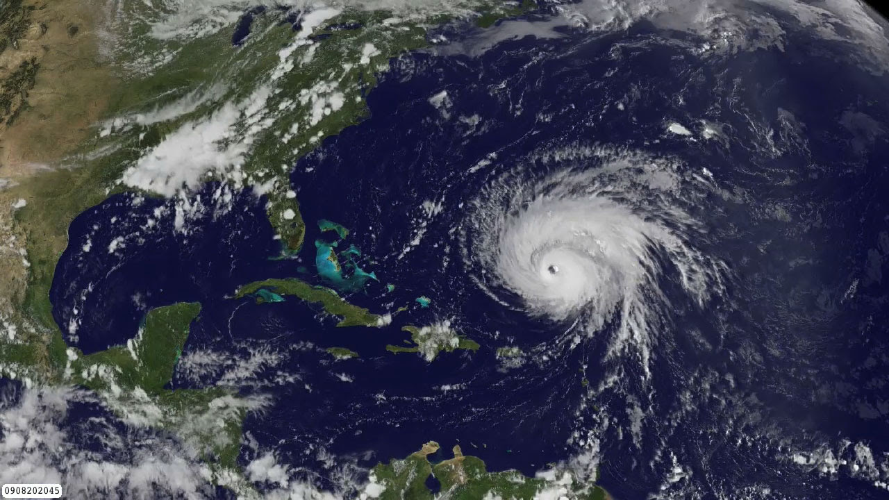 NASA GOES Project now offers real-time HDTV movies of the east- and west-coast hurricane alley regions. This is a short movie of GOES satellite imagery showing Hurricane Bill from August 2009