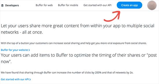 Create Buffer app