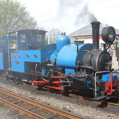 Engine No 19 (no name!), the only steam locomotive from the famous Darjeeling Himalayan Railway: Pic courtesy AM Hurrel
