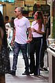 jeremy meeks and chloe green share a kiss while shopping at her store2 03