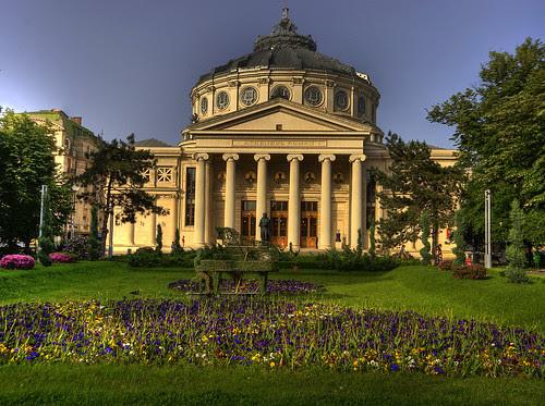 Atheneul Roman, Bucaresti, Romania