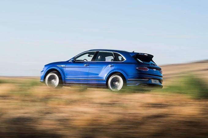Resmi Dirilis, New Bentley Bentayga Speed Disokong Mesin Buas oleh - modifmotorhonda.com