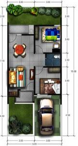 Desain Renovasi Dan Pengembangan Rumah Type 45 | PT ...