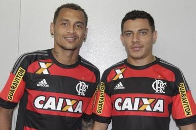 Alan Patrick e Ayrton, Flamengo (Foto: Divulgação / Flamengo)