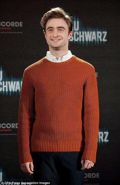 Você foi Tango-ed: Daniel Radcliffe promove seu novo filme The Woman in Black em Munique