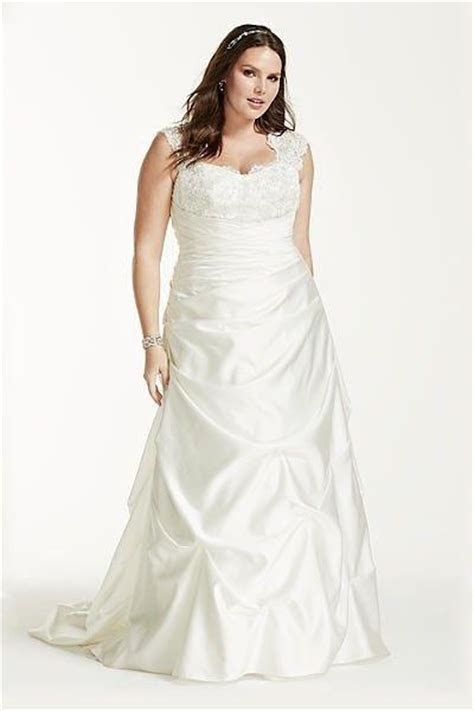What are the best wedding dresses for short, chubby brides