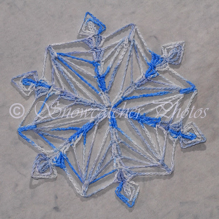 Cast Off Snowflake
