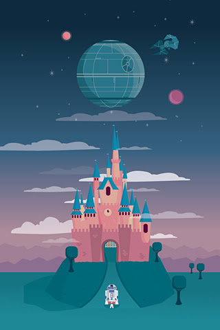 Poolga - Disney and the Death Star - Milli-Jane