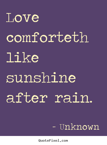 Create Custom Picture Quotes About Love Love Comforteth Like