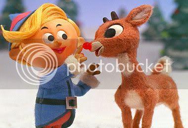 cute 1960s Rudolph