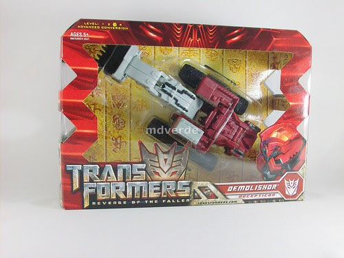 Transformers Demolishor RotF Voyager - caja