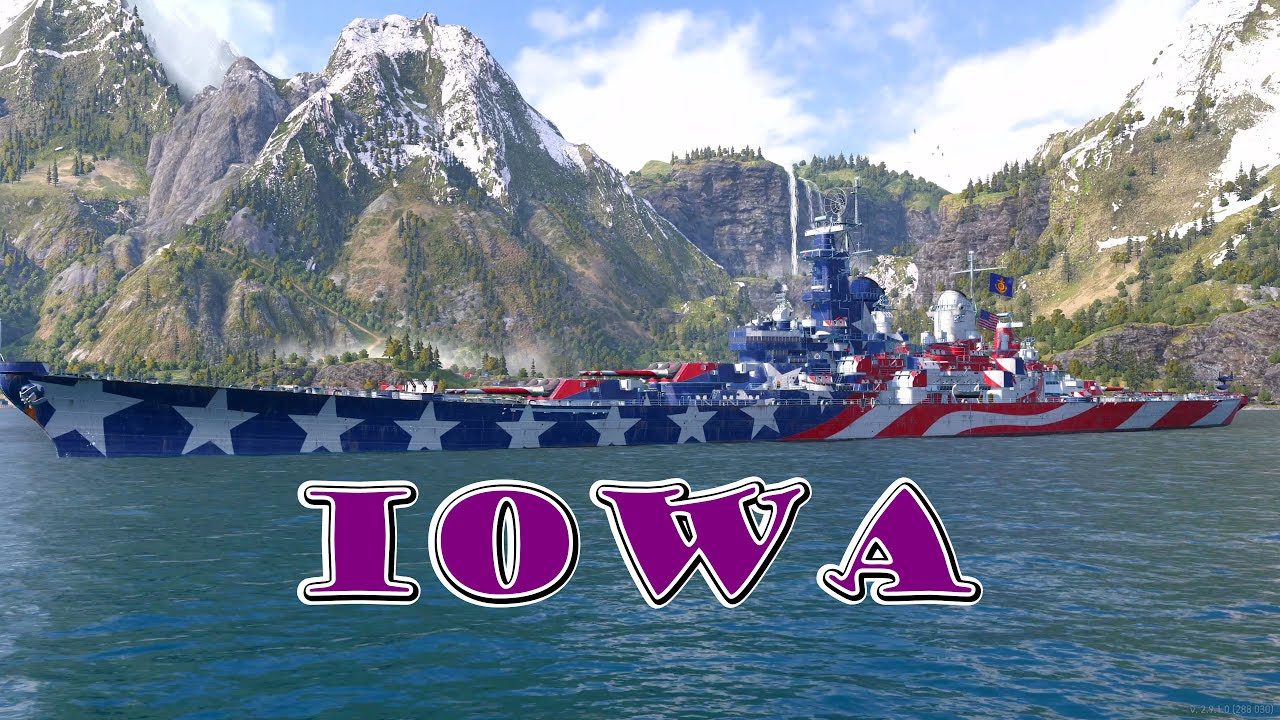 New-Iowa-Build-New-Personal-Best-Damage-World-of-Warships-Legends-Xbox-One-X-4k - Ship Rage!