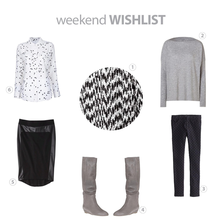 weekend wishlist_september