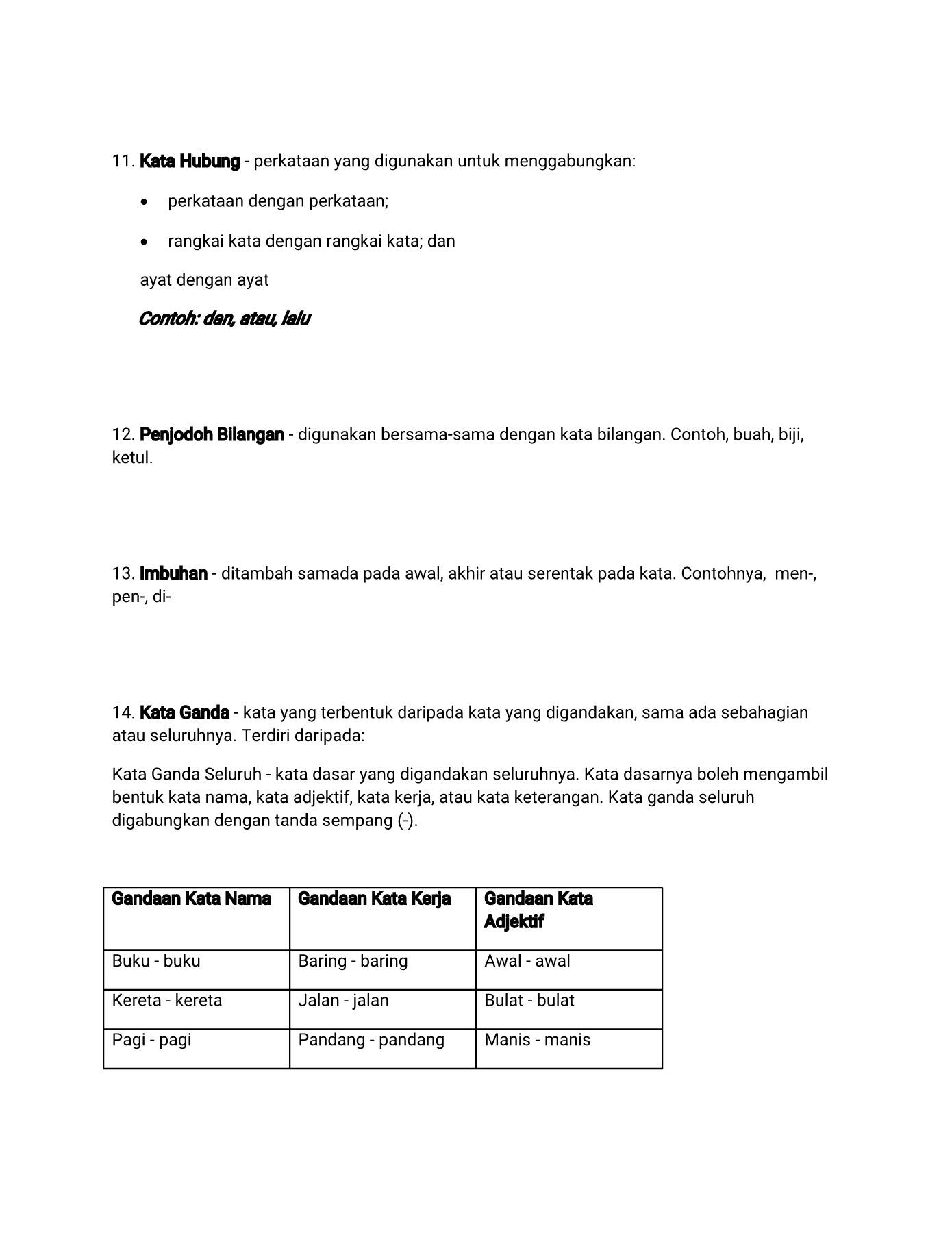 Contoh Ayat Kata Hubung Contoh Soal Dan Materi Pelajaran 7