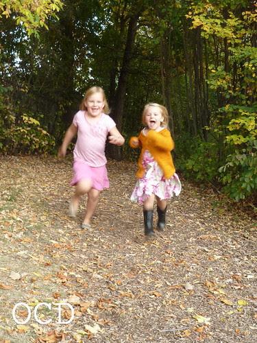 running girls!