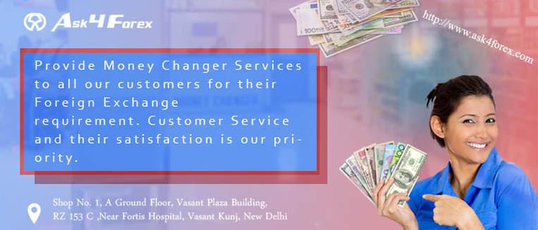 Money Exchange Saket | Money Changer in Saket | RouteForex