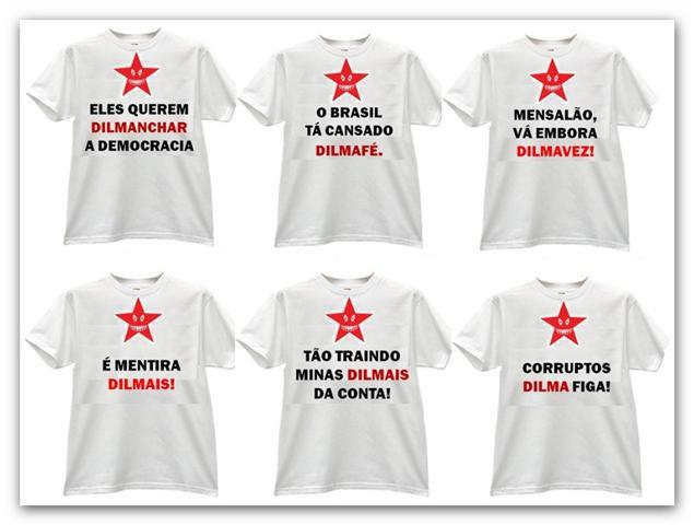 camiseta dilma um