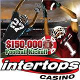 Intertops Casino Kicks Off American Football Season with Casino Bonuses