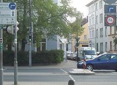 Wilde Verkehrsbeschilderung Röhnring