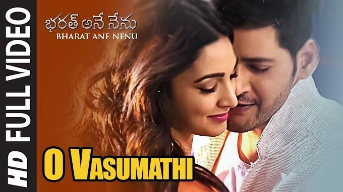O Vasumathi Song Lyrics in Telugu | Bharat Ane Nenu | Mahesh Babu, Koratala Siva