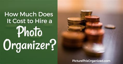 How Much Does It Cost to Hire a Photo Organizer?