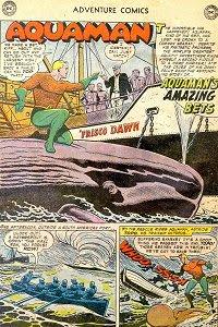 Adventure #243 Aquaman Splash Page