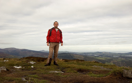 At the summit of Scarr