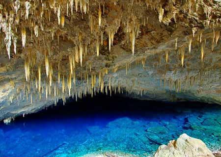 gambar 3 Keajaiban Dunia Blue Lake Cave