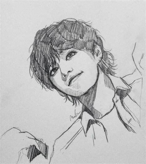 fanart bts drawings bts drawings art sketches