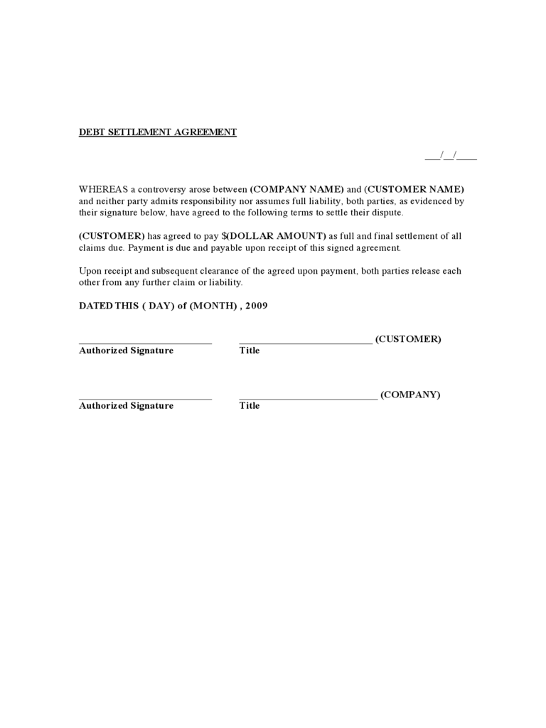 81 INFO SAMPLE AGREEMENT LETTER TO PAY DEBT 2019