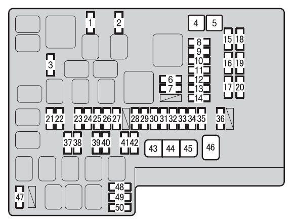 Scion Fr Fuse Box Diagram